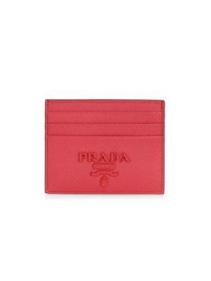 reputable site 4a819 14507 Prada - Saffiano Leather Accordion Card Case - saks.com