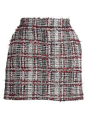 8b19a9423 Thom Browne - Tweed Wool-Blend Mini Skirt