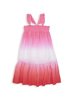 972ccee86 QUICK VIEW. Design History. Little Girl's Ombré Maxi Dress
