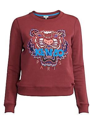 9e0bfe22a Kenzo - Slim-Fit Classic Tiger Cotton Sweatshirt