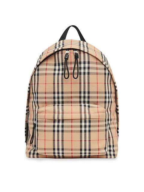 Jett Vintage Check Backpack