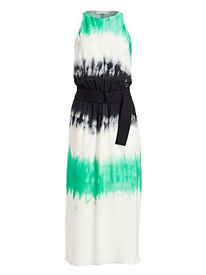 Tallulah Tie Dye Silk Maxi Dress by A.L.C.
