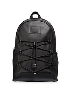1f3c3fb60bb0b4 COACH. Academy Sport Leather Dome Backpack