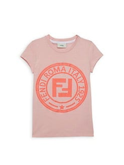 119e2943e Fendi. Little Girl's & Girl's Logo Tee