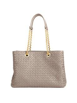 a0f08d6d202b Product image. QUICK VIEW. Bottega Veneta. Woven Leather Tote Bag