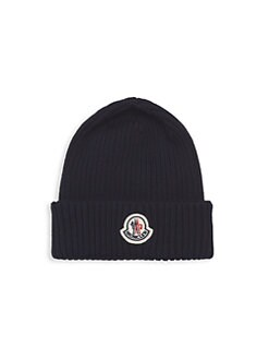 6d64f8418c1 Moncler. Ribbed Wool Beanie Hat