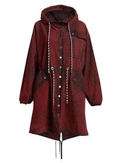 8502e6741be QUICK VIEW. Proenza Schouler PSWL. Slouchy Crinkle Cotton Coat