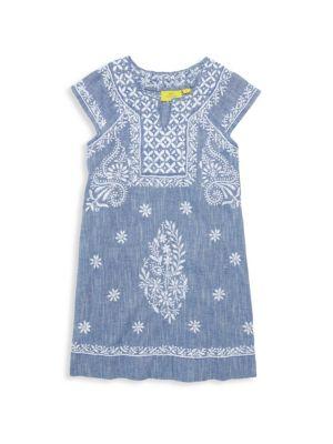 Roller Rabbit Little Girl S Girl S Faith Embroidered Dress