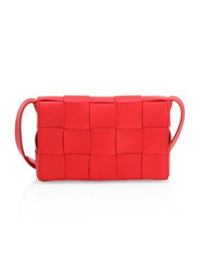 Bottega Veneta Crossbody Cassette Leather Crossbody Bag