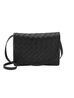 60dd6afa4bd Product image. QUICK VIEW. Bottega Veneta. Intrecciato Leather Crossbody Bag