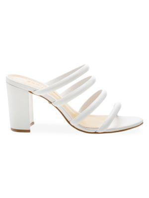 Schutz Sandals Felisa Mestico Leather Sandals