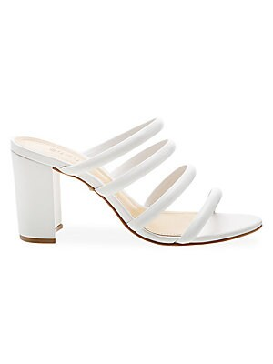 Felisa Strappy Leather Mules by Schutz