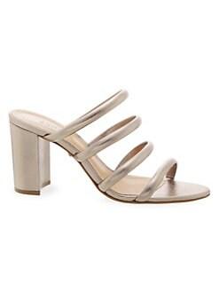 a37be522ebf8 Schutz. Felisa Mestico Leather Strappy Sandals