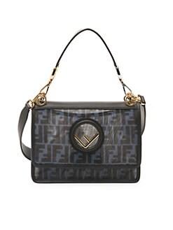 d2f5a23c2c26 QUICK VIEW. Fendi. Logo Shoulder Bag