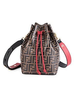 463b9ef7b06 Fendi - Logo Drawstring Shoulder Bag br