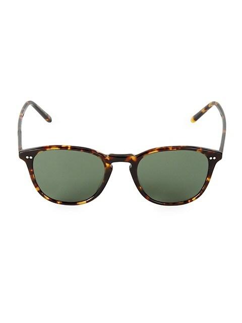 Forman 51MM Square Sunglasses