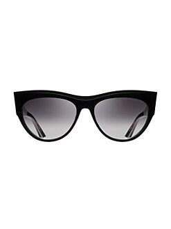 2312bc16a15 DITA Eyewear. Braindancer 58MM Cat Eye Sunglasses