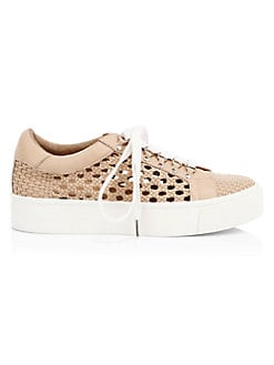 85447ad70e7 Handan Woven Platform Sneakers WHITE. QUICK VIEW. Product image