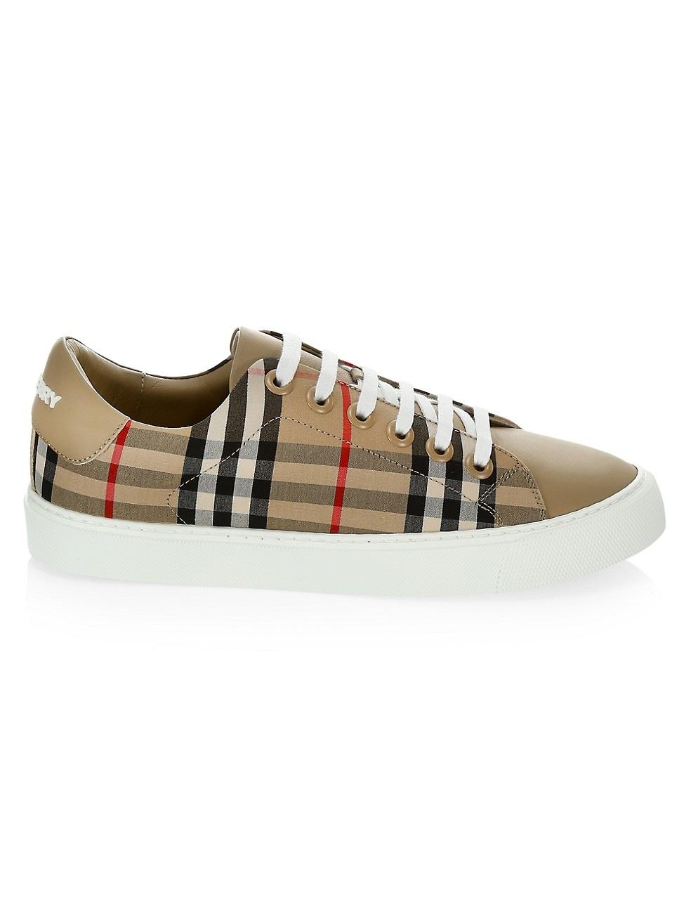 Burberry Albridge Vintage Check Sneakers