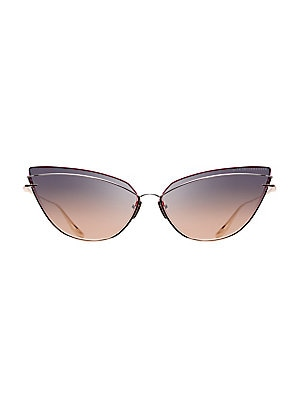 14b99d6f02 DITA Eyewear - Nightbird One 66MM Cat-Eye Sunglasses - saks.com