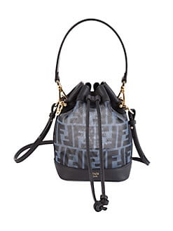 b2030e3cab58 QUICK VIEW. Fendi. Mini Mon Tresor Mesh Bucket Bag