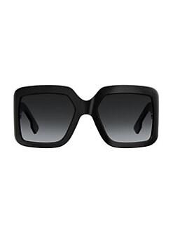 1ed99c5f52012 Dior. 60MM Oversized Square Sunglasses