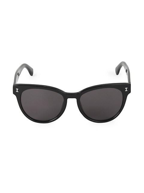 55MM York Cat Eye Sunglasses