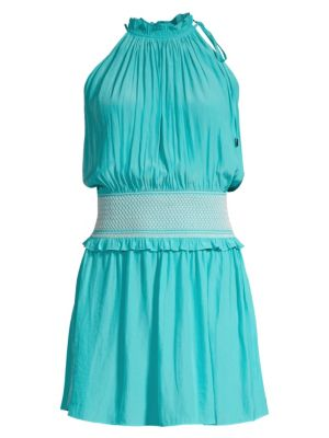 Ramy Brook Blaise Smocked Waist Dress