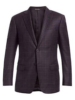 2a5fa66e Emporio Armani | Men - Apparel - Sportscoats & Blazers - saks.com
