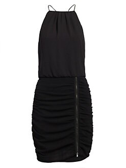 0610a7b7e048 Product image. QUICK VIEW. Halston Heritage. Sleeveless Scoop Neck Cami  Dress