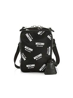 39ac5f30a34a4 QUICK VIEW. Moschino. Allover Logo Shoulder Bag