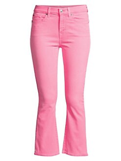 6eb90aacb92 ... Slim Kick Cropped Jeans NEON PINK. QUICK VIEW. Product image