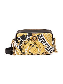 3055e056dd QUICK VIEW. Versace. Quilted Leather Camera Bag
