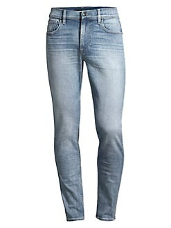 806f54a831c Hudson Jeans. Zack Rosewell Distressed Skinny Jeans