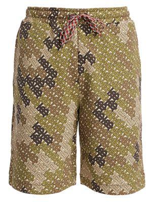 Burberry Camille Tb Monogram Print Shorts