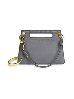 0cbedca0d2ee QUICK VIEW. Givenchy. Small Whip Leather Crossbody Bag