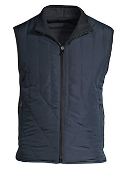 11422f1cc9937 Corneliani. Quilted Wool Reversible Vest