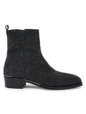 Starry Night Metallic Ankle Boots by Alexander Mc Queen