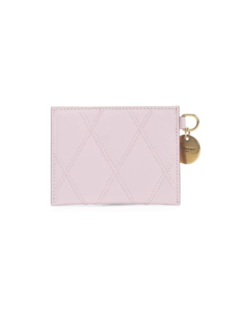 Givenchy Losange Quilted Leather Card Case   SaksFifthAvenue