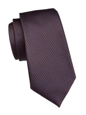 Giorgio Armani Micro Dotted Silk Tie