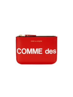 Comme Des Garcons Play Huge Logo Coin Purse