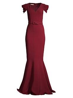 137ba6667d Michael Kors Collection. Cap-Sleeve Mermaid Gown