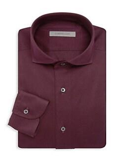5b5f2965 Corneliani. Jersey Pique Dress Shirt