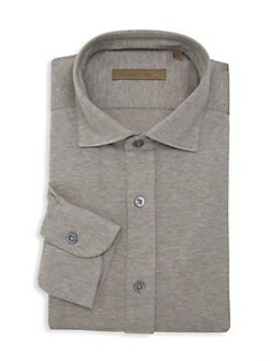 b5901fab9bf9 Product image. QUICK VIEW. Corneliani. Classic-FIt Textured Dress Shirt