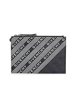 b8346eed72 QUICK VIEW. Givenchy. Medium Logo Leather Pouch