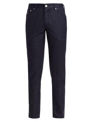 Brunello Cucinelli Flannel Five Pocket Pants