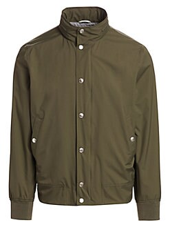 89951e69e07 QUICK VIEW. Brunello Cucinelli. Scott Nylon Bomber Jacket