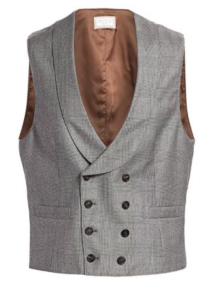 performance sportswear official images uk store Brunello Cucinelli - Single-Breasted Wool Mandarin Collar ...