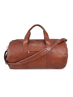 452ad94cfd0 Product image. QUICK VIEW. Brunello Cucinelli. Textured Leather Duffle Bag