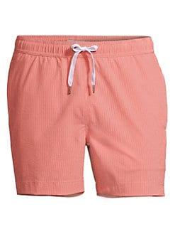 ad428b6872920 Onia. Charles Striped Slim-Fit Swim Trunks
